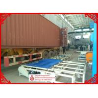 China MgO Board Production Line , Fully Auto Mixing System Gypsum Board Manufacturing Machine on sale