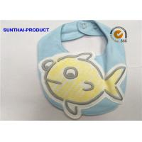 Quality 3D Big Fish Baby Bibs And Hats Popular Design Double Layer Applique Baby Bibs wholesale