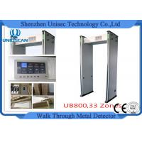 Quality Door Frame Multi Zone Archway Metal Detector Magnetometer For Password Protection wholesale