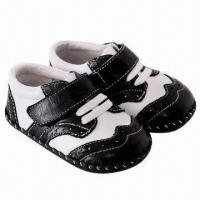 China Fashionable/soft sole leather shoes, made of imported cow leather, non-slip sole on sale