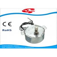 Quality 1.5RPM Home Ac Electric Motor , Silver Color Synchronous Ac Motor 49TYD Low Noise wholesale