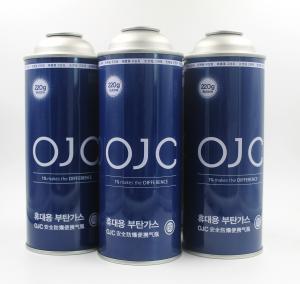 China China wholesales camping gas bottles 400ml/227g on sale
