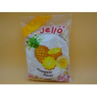Cheap Pineapple Flavor Original Fresh Chewy Milk Candy With Fruit Jelly Red Color for sale