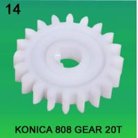 Quality GEAR TEETH-20 FOR KONICA 808 MODEL minilab wholesale