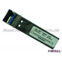China BiDi Single Mode Fiber Transceiver , 155M SFP Optical Transceiver With DDM on sale