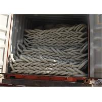 Quality PVC Razor Barbed Wire Fence , Colored Concertina Wire Fencing Firm Structure wholesale