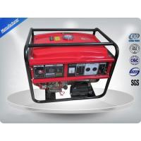 Quality 5kw Portable 3000rpm Gasoline Generator Set Low Noise With AVR wholesale