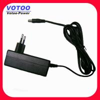 Cheap AC 100 - 240V To DC 12V 2A Power Adapter For CCTV Camera 5.5mm x 2.5mm With EN60950-1 for sale