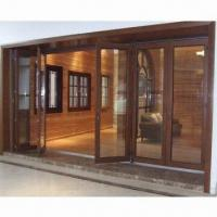 Buy cheap Solid wood folding window with hardware and glasses from wholesalers