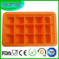 Quality Silicone Ice Cube Tray 15 Perfect Square Ice Tray Non-stick Ice Cube Maker Mold wholesale