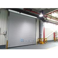 Quality Aluminum Alloy Panel Workshop Industrial Security Doors Wind Load Max 30m / s wholesale