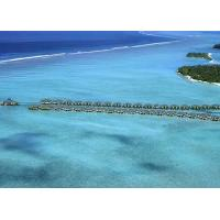 Quality Belize / Maldives Overwater Bungalow With Light Steel , Over The Water Bungalows wholesale