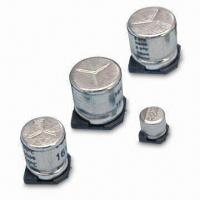 Quality Chip/SMD Aluminum Electrolytic Capacitor with Low Impedance wholesale