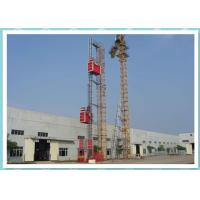 Buy cheap 40m / Min Passenger And Material Hoist Frequency Control Permanent Installation from wholesalers