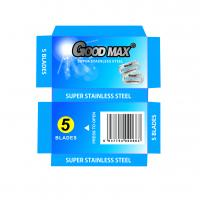 Buy cheap Goodmax Double Edge Stainless Steel Blades , Silver Men'S Shaving Razor Blades from wholesalers