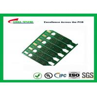 Quality 2 Layer Flash Gold PCB Green Solder Mask Quick Turn PCB Prototypes Fiducial Marks Add wholesale