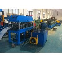 Quality C Channel Cable Tray Roll Forming Machine , Gear Box Driven Cable Tray Making Machine wholesale