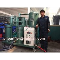Quality High Viscosity Lubricant Oil Purifier, Vacuum Oil Purification Cleaning Plant with special pump and filter wholesale