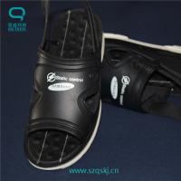 Buy cheap Good quality and beautiful black ESD sandals for sansung made of PU can buy from from wholesalers
