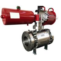 Quality Small Pressure Loss Actuator Valve Electric Pneumatic Operated Valve FOOWELL wholesale