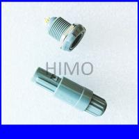 Buy cheap double key 6 pin lemo self-latching plastic connector product