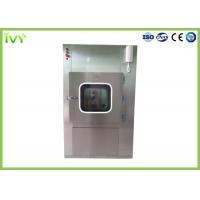 China SUS304 SS Pass Through Box Compact Design Long Lifetime For Cleanroom on sale