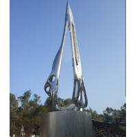 Quality Customized Size Large Outdoor Sculpture / Mirror Stainless Steel Abstract Sculpture wholesale