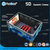 Quality Dynamic Multi Dimensional 5D Cinema Equipment Lighting / Smoke / Aroma Effects wholesale