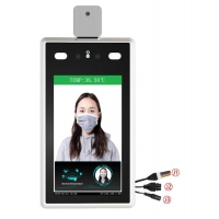 """Quality 7"""" IPS CMOS Binocular Face Recognition Thermometer wholesale"""