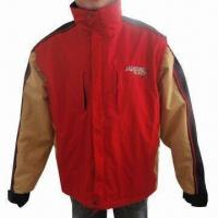 Quality Men's Ski Jacket with 190T Polyester Lining and SBS Zippers wholesale
