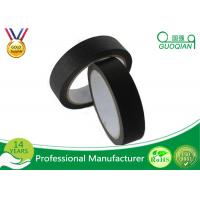 "Quality 3/4"", 1"", 1.5"", And 2"" Widths Black Crepe Masking Tape For Automotive / Window wholesale"