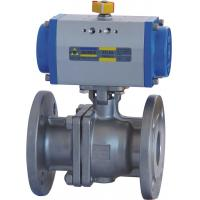 Quality Floating Type Pneumatic Actuator Ball Valve 10 Inch ANSI 600 Flanged End wholesale