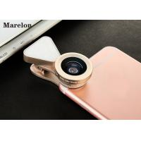 Cheap Macro Clip - On Universal Phone Selfie Lens LED Flashlight With Wide Angle 140 Degrees for sale