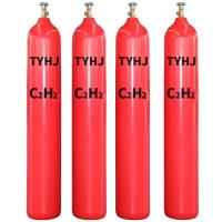 Quality Special Industry 99.9% Purity Gas C2H2 Acetylene Gas With Cylinders wholesale