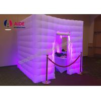 Rentable Lighted Inflatable Photo Booth Enclosure Event Custom Made Inflatables