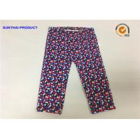 Quality Multi Colors Dots Cute Baby Girl Leggings Lycra Jersey Pants SGS Certified wholesale