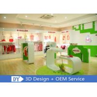 Quality Modern Fashion Kid Clothing Store Interior Design With Custom Size Color Logo wholesale