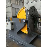 Quality Welding Positioner Turning Table Use 500 Diameter Welding Chuck , Loading Capacity 1200Kg Export Russia wholesale