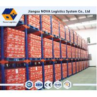 Quality Double Entry Powder Coating Drive In Pallet Racking For Raw Materials wholesale