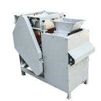 China Low Noise 750w 150kg/H Cashew Peanut Skin Removing Machine Dry Or Wet on sale