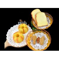 Quality Flower Hollow Cake Baking Paper , Food Oil Absorbing Round Paper Placemats wholesale