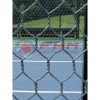 China Hex mesh for Paddle Tennis Courts Wholesale 16 AWG Wire Professional Manufacturer on sale