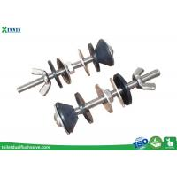 Quality Solid Stainless Steel Toilet Bolts / WC Bolt For 2 Pieces Toilet , Long Endurance wholesale