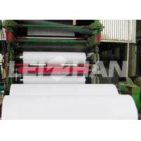 Quality Full Automatic Toilet Paper Roll Making Machine Fast Speed Custom Dimension wholesale