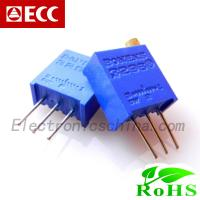 China Variable Resistor Trimmer Potentiometer 3296W on sale