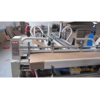 Quality Vacuum Feeding Automatic Folder Gluer Machine Of Counter And Stacker Section wholesale