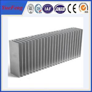 China Aluminum profile heat sink manufacturer, heat sink aluminum extrusion profiles manufacture on sale