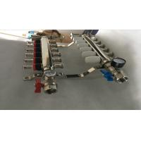 Quality S S 201 Floor Heating Manifold With Two Ball Valve / Brass Water Manifold wholesale