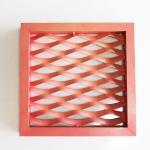 Quality Custom Colors Powder Coating Mesh Ceiling Panels / Diamond Metal Mesh Panels wholesale