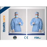 Buy cheap Sterile Disposable Surgical Gowns For Patients / Doctors , Disposable Trauma Gowns from wholesalers